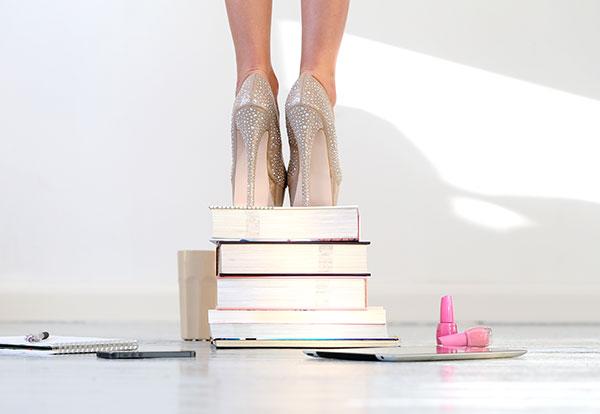 Uma história de sapatos e de palavras